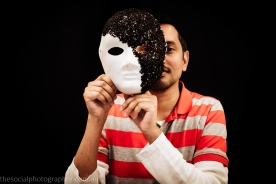 Mohsin Ali: My mask shows my pride in my ethnicity, my sexuality, what I stand for and what I believe.