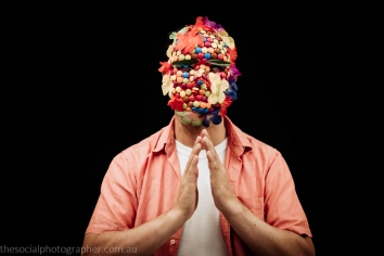Fernando Estrada: Through my mask I wanted to provide a glimpse of who I am. A man proud and about of being a gay man.