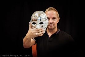 Michael Dalton:My mirror mask: being able to look at yourself in the mirror and like what you see, warts and all as they say. It's an ongoing process.