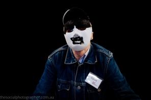 Kevin: My mask? I didn't make one