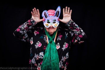 Toni: My mask is a spooky funny take on my conservative, money focussed past.